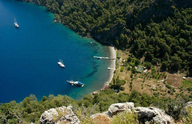 Turuncpinari, private boat rental, www.barbarosyachting.com