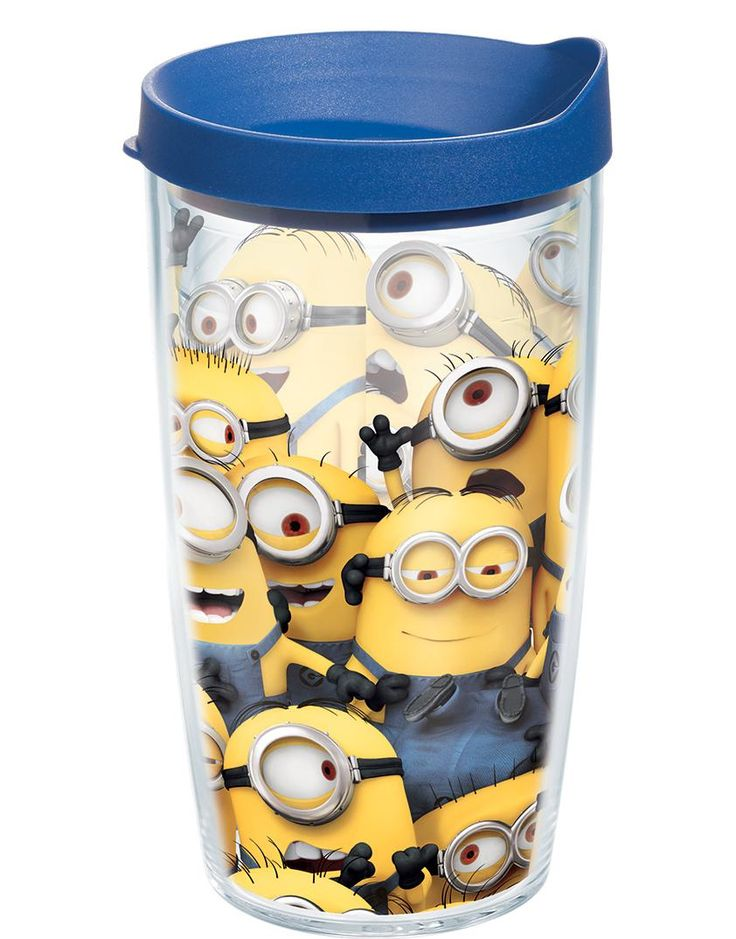 With their new minions tumbler your kids (or their parents) will never have to worry about a cold drink again.