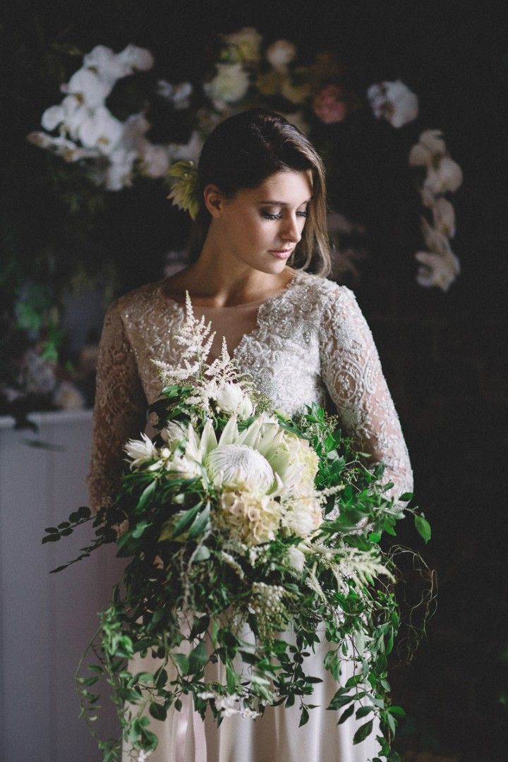 suzanne harward bridal gown, vanessa norris photography, poppy culture, mornington peninsula bride, lace wedding dress, sophie Knox hair and makeup, mornington peninsula wedding