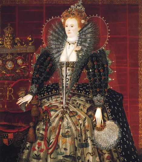 I. Erzsébet (1533- 1603) VIII. Henrik kisebbik lánya, I. Erzsébet féltestvére halála után került az angol trónra 1558-ban. A spanyol Armada 1588. évi legyőzésével ő rakta le a brit gyarmatbirodalom alapkövét. Hajadonként, gyermektelenül halt meg.