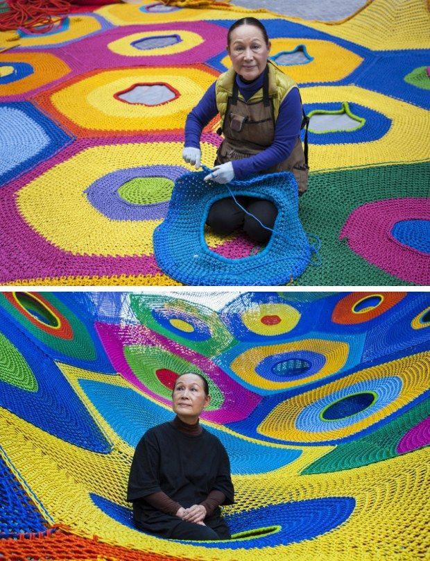 textile artist toshiko horiuchi macadam