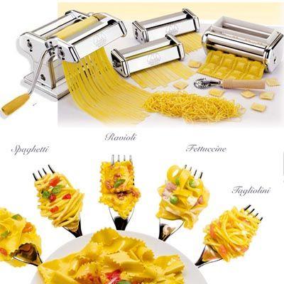Máquina para hacer 5 tipos de pasta