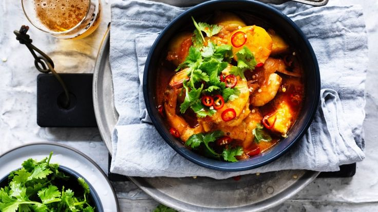 Prawn tagine recipe