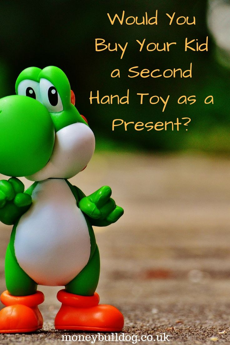 Would You Buy Your Kid a Second Hand Toy as a Present?