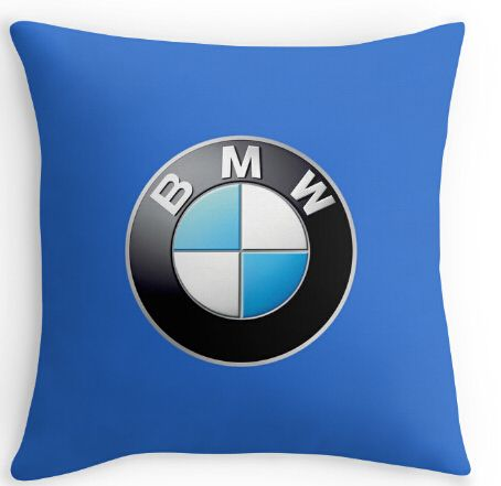Cool Art Design  logo for bmw large Double size Printing Square nice Pillowcase for 12''14'' 16'' 18'' 20'' 24'' free shipping //Price: $29.55 & FREE Shipping //     #hashtag4