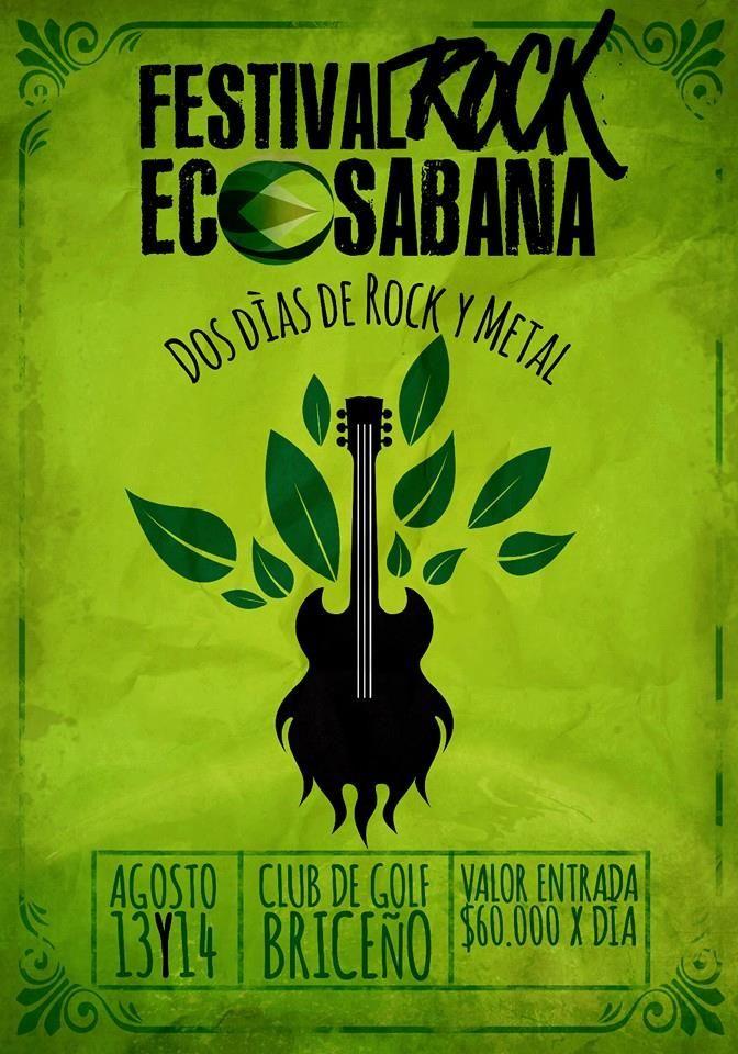 Dos días de Rock y Metal. Basados en la iniciativa de apoyar los recursos naturales y espacios de la sabana de Bogotá, en su primera edición el FESTIVAL ROCK ECO SABANAhace un llamado a todas las …