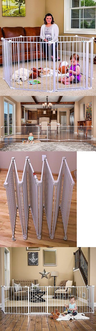 Baby Safety and Health 20433: Regalo 192-Inch Super Wide Baby Gate And Play Yard In White Steel Frame, 1350 New -> BUY IT NOW ONLY: $79.57 on eBay!