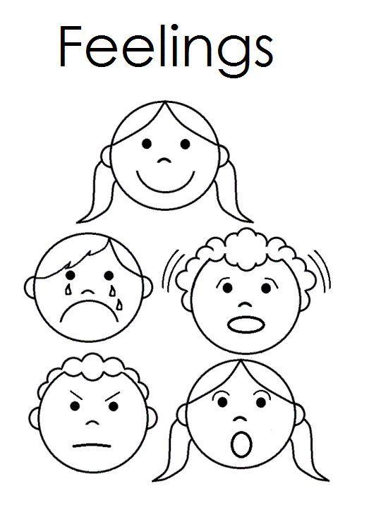 A Child's Place: Feelings Emergent reader   Feelings   Pinterest ...