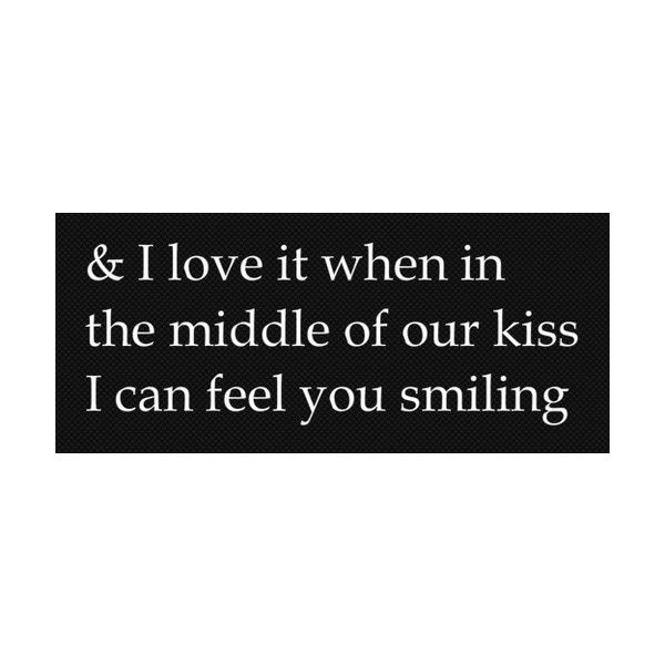 fuck yeah kissing found on Polyvore