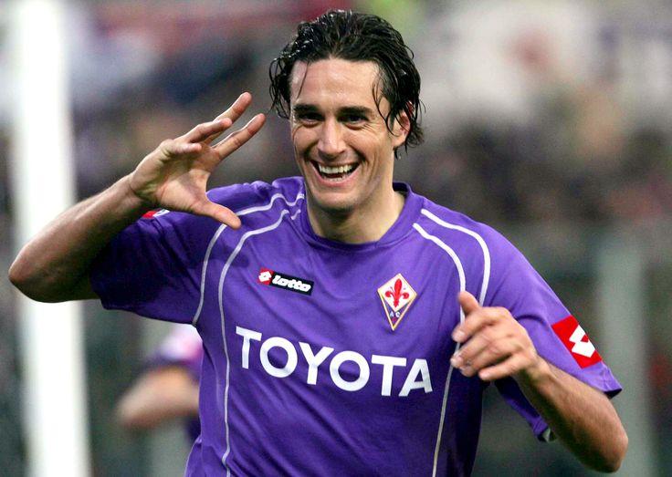 ~ Luca Toni on Fiorentina with his iconic goal celebration ~