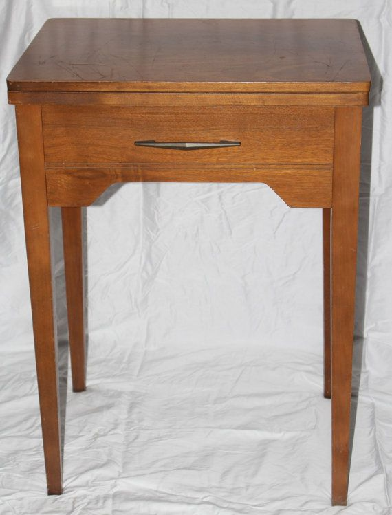 Sewing Cabinet, Vintage Sewing Machine Cabinet, Sewing Table, Sewing Desk.  Dressmaker Cabinet Table, Vintage Wood Cabinet, Singer Sewing Des |  Pinterest ...