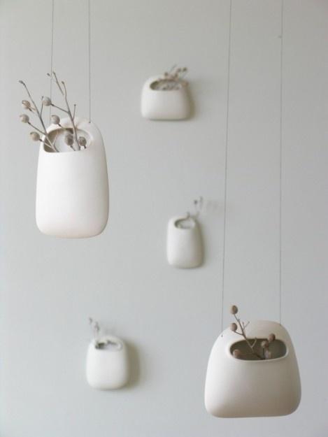 ceramic hanging vessels