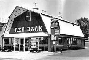 Red Barn in Youngstown, Ohio