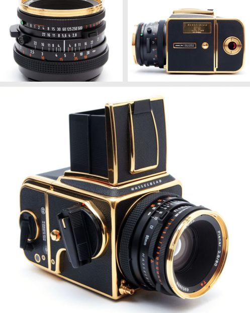 Hasselblad 30 Year Gold Edition, awesome! //What a marvelous looking camera!