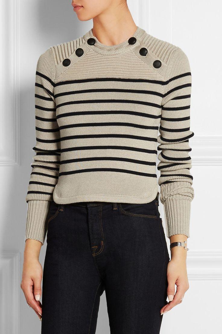 Isabel Marant | Pull en laine mérinos mélangée à rayures Hatfield | NET-A-PORTER.COM