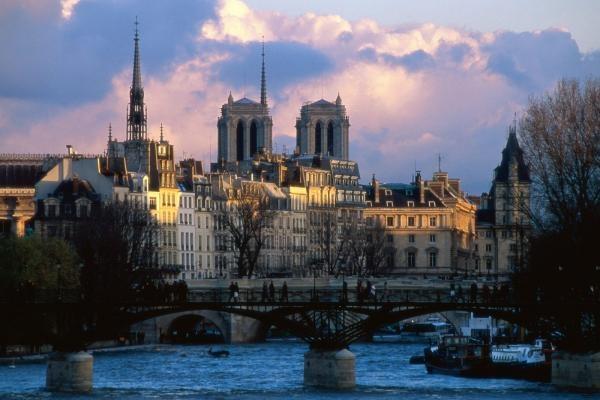 Seine River, Notre Dame, Paris, France