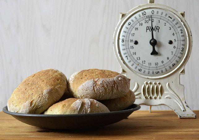 Pea Rolls by Scandinavian Bread