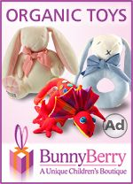 Wonderful Organic Baby Toys from Bunny Berry