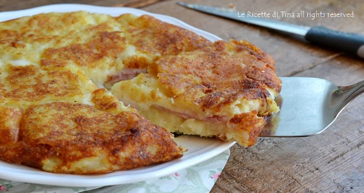 Sformato patate in padella un secondo piatto delizioso e semplicissimo da preparare,si prepara in anticipo,senza accendere il forno ed è squisito
