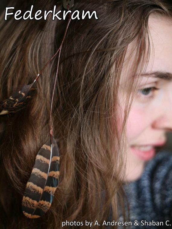 pince à cheveux de pinces à cheveux plume 2 x 2 par Federkram