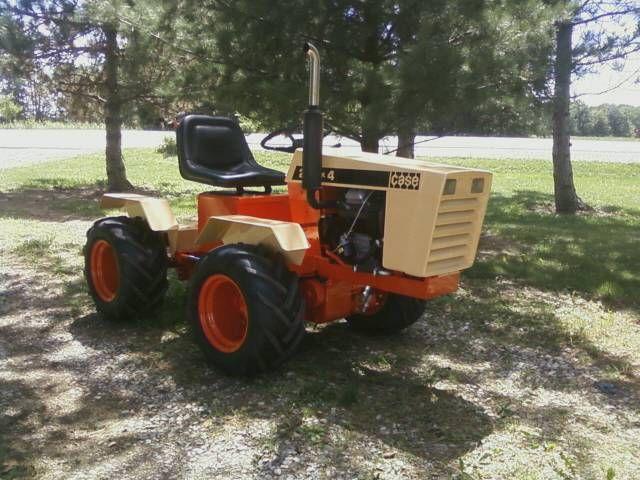 Case Garden Tractors