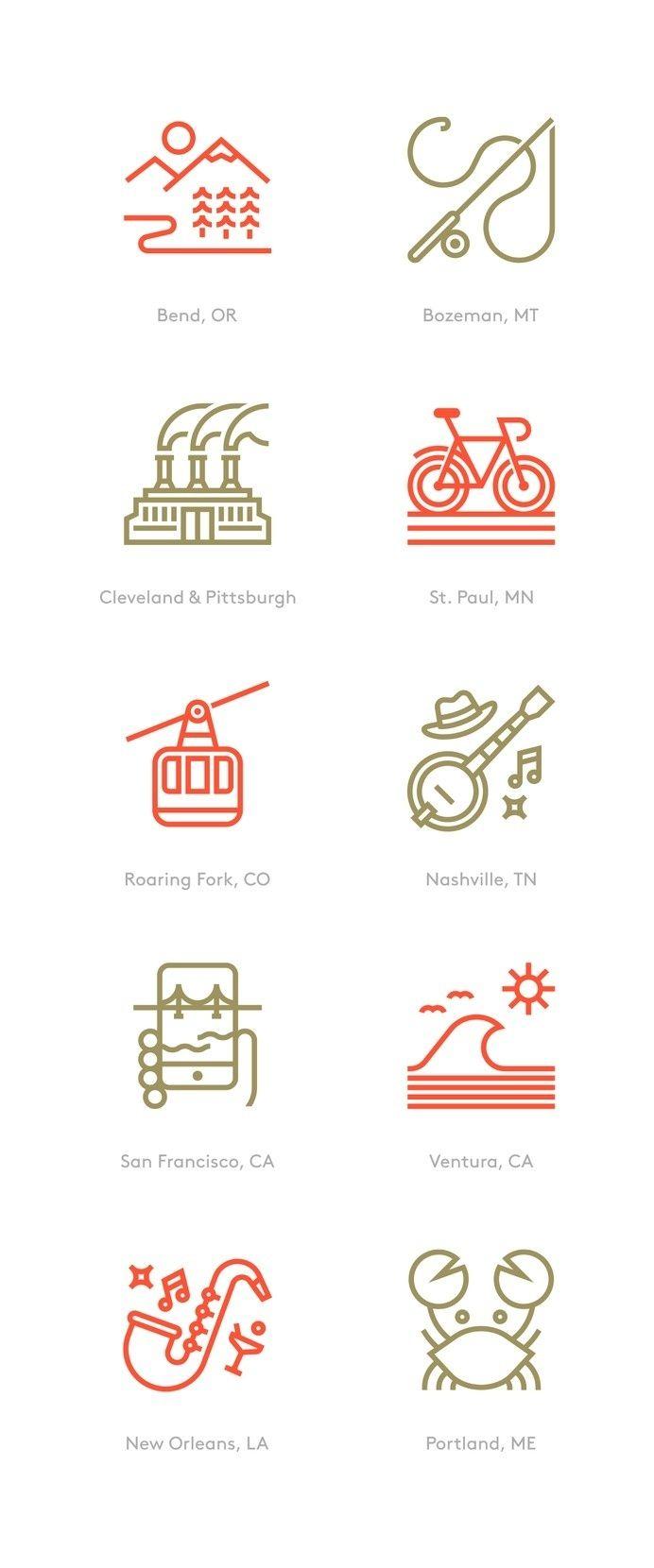 Ten spot illustrations created for Men's Journal. Kim Gray