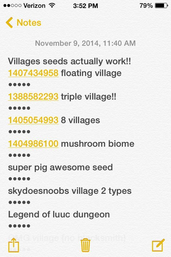If you play minecraft pocket edition 0.9.5 here are some awesome seeds to try! I tests them and they worked!!: