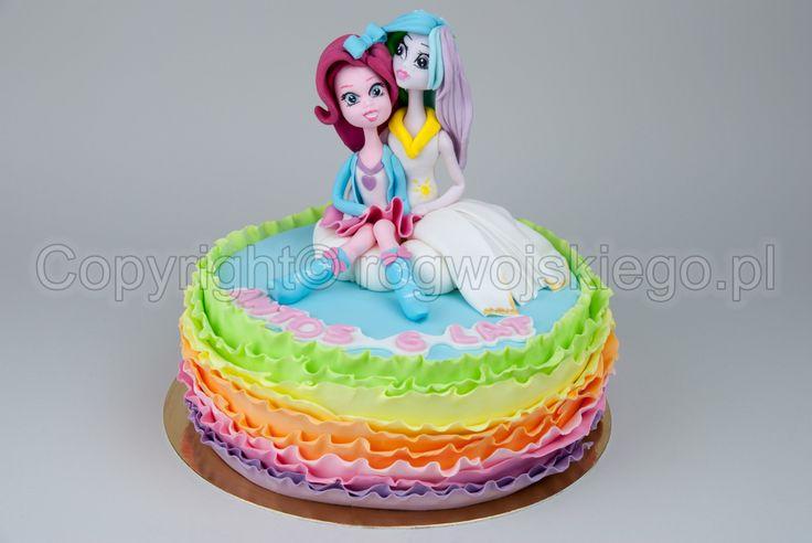 Tort Equestria Girls, Little Pony Cake, www.rogwojskiego.pl