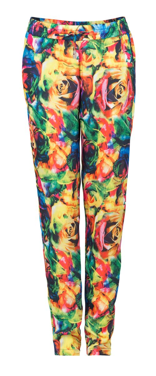 Trussard Jeans trousers with flower prints
