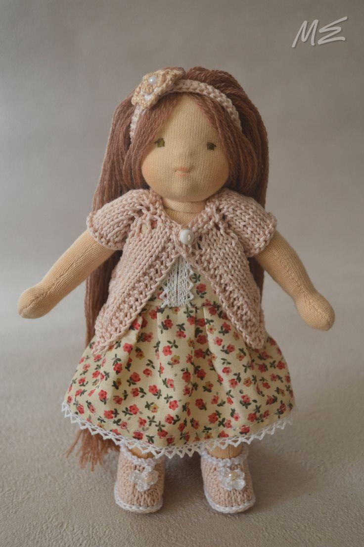 вальдорфская кукла Дианочка, waldorf doll