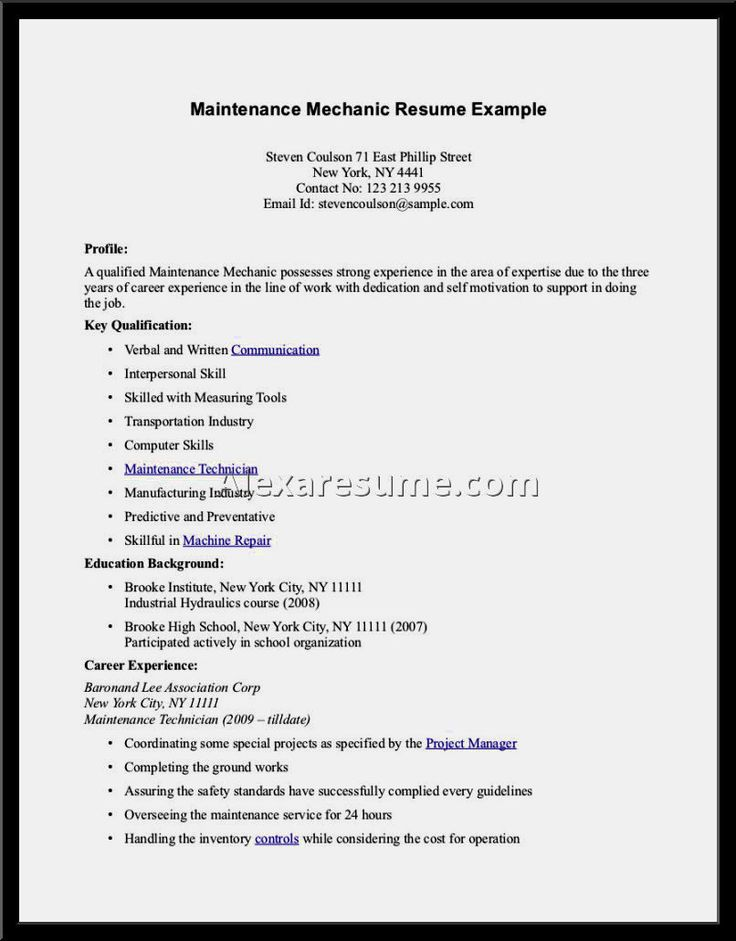 Más de 25 ideas únicas sobre Perfect resume example en Pinterest - transportation resume examples