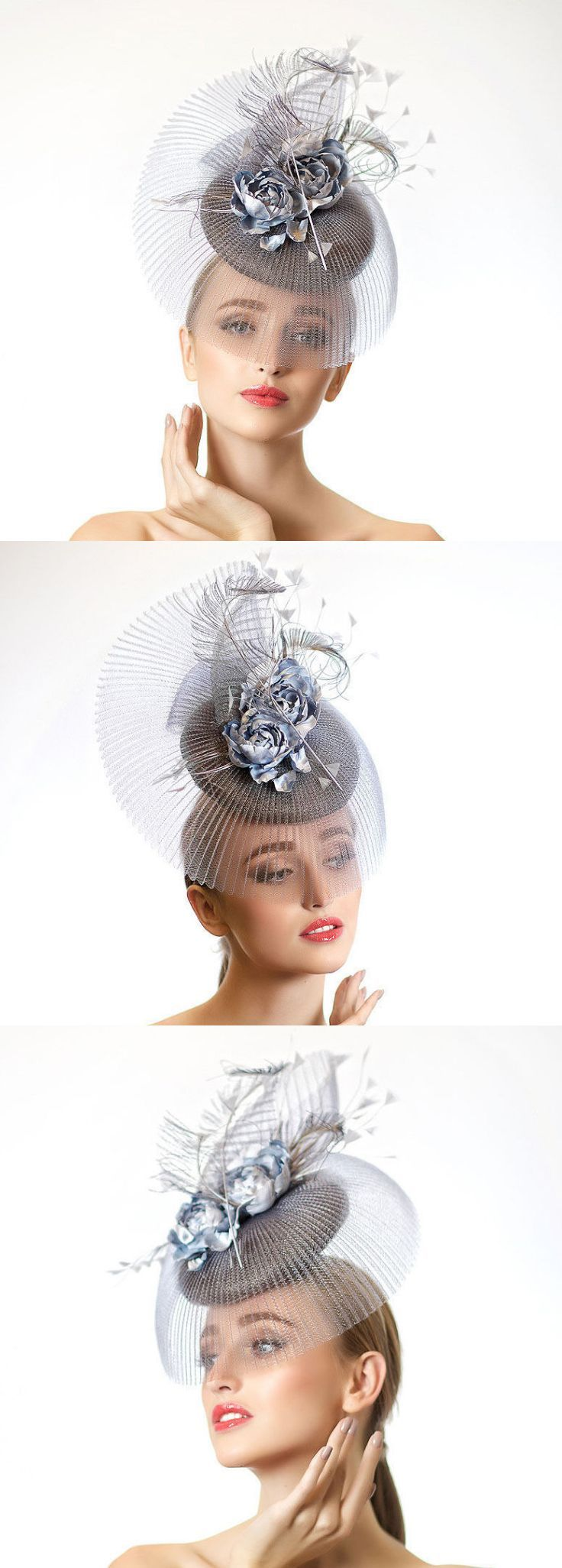 Metallic Silver Rose Hat, fascinator headpiece, with bursts of roses flowers and pleats details, this headpiece is great for spring summer racing fashion or wedding outfits. Ideas for Mother of the bride in popular color for MOB outfits. Wedding ideas + inspiration, or Kentucky Derby, Royal Ascot racing outfits. #kentuckyderby #royalascot #ascotfashion #ascothats #derbyhats #fashion #fashionista #ascot #kentuckyderbyoutfits #outfits #outfitideas #affiliatelink #etsyfinds #springfashion…