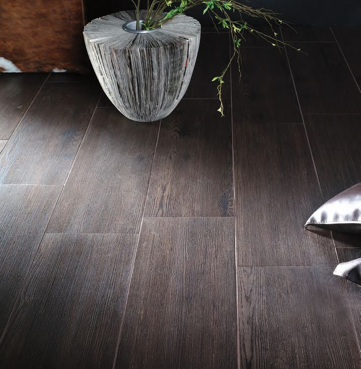 Selling a home right now withi this: Wood grain ceramic tile flooring. - 59 Best Home - Flooring Images On Pinterest