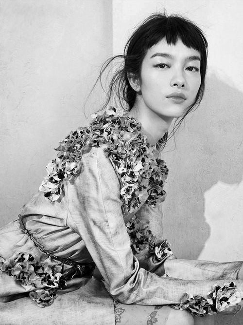 Beautiful Fei Fei Sun photographed by Sharif Hamza for Vogue China, May 2014 ('Modern Romance').