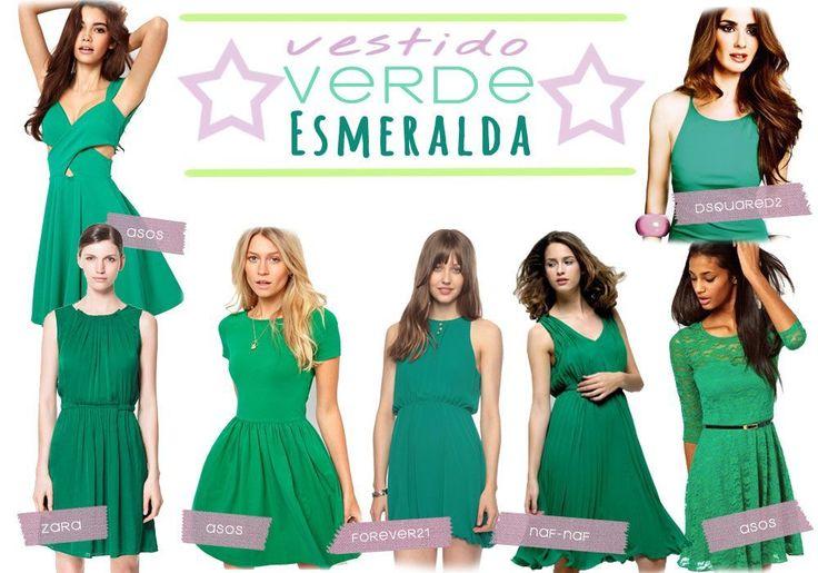 Vestido Verde Esmeralda #DIY con patrón incluido