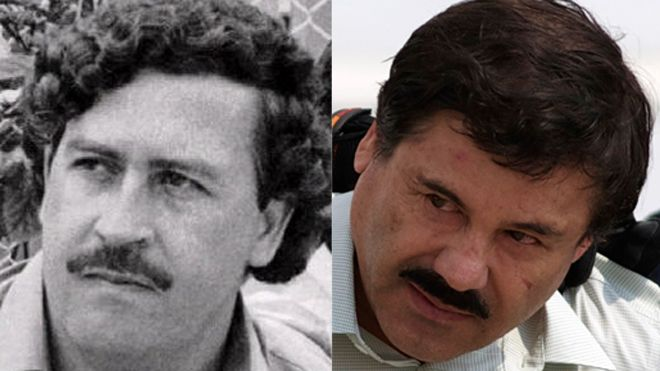 Joaquin Guzman entered the drug world when he started working for the infamous drug king pin Pablo Escobar.