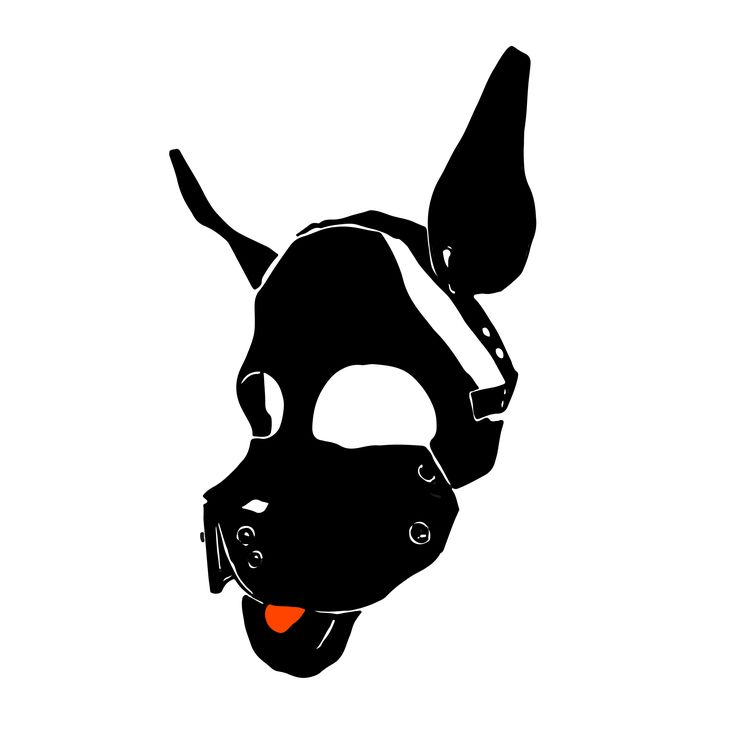 Pup mask.