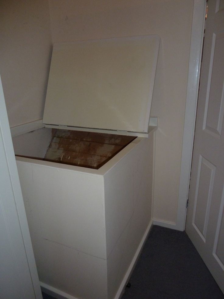 Before Box Room Cupboard Over Stairs Home Ideas In