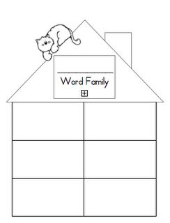 Word Family printable