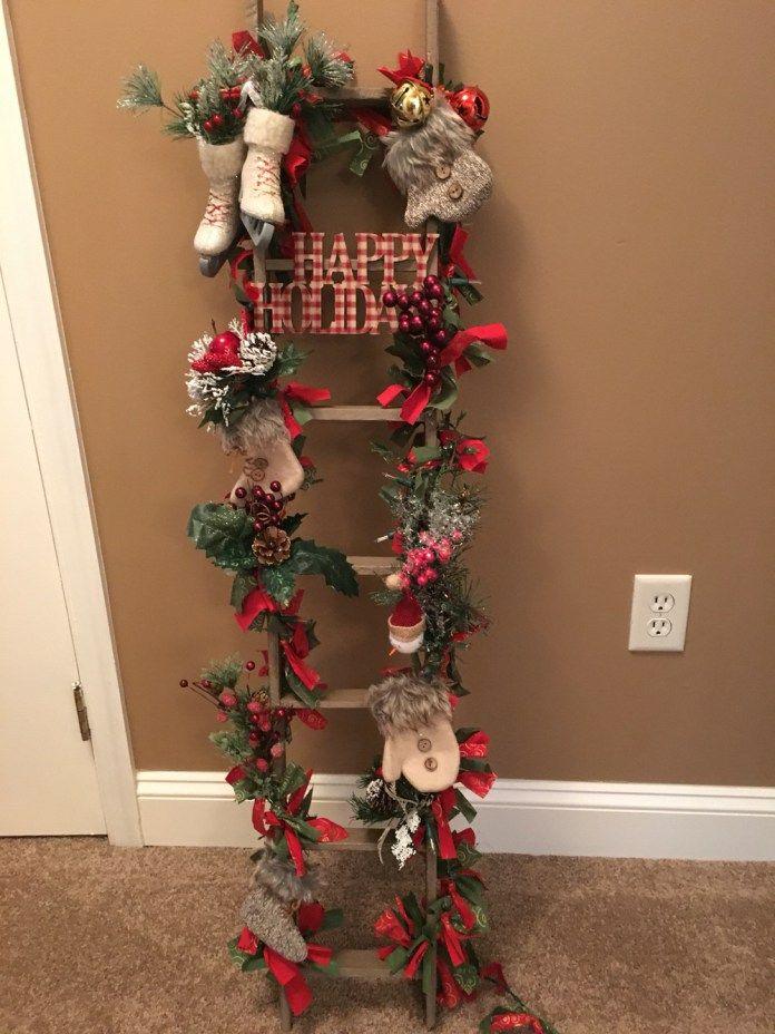 M s de 25 ideas incre bles sobre escalera de navidad en - Escaleras decoradas en navidad ...