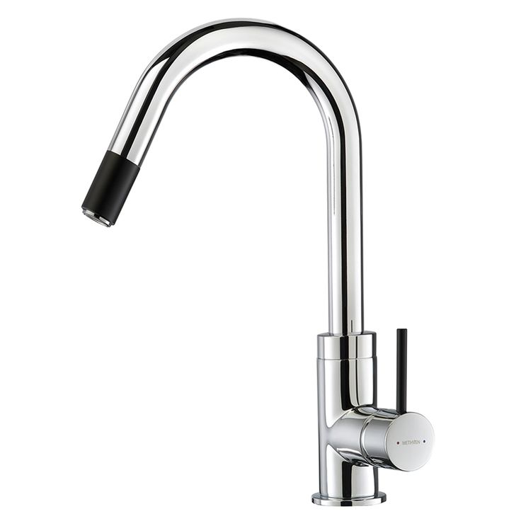 Culinary Gooseneck Sink Mixer with Pull Out Spray - plain chrome  $298 at Bunnings