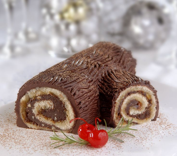 Tronco de Natal (Christmas Log)