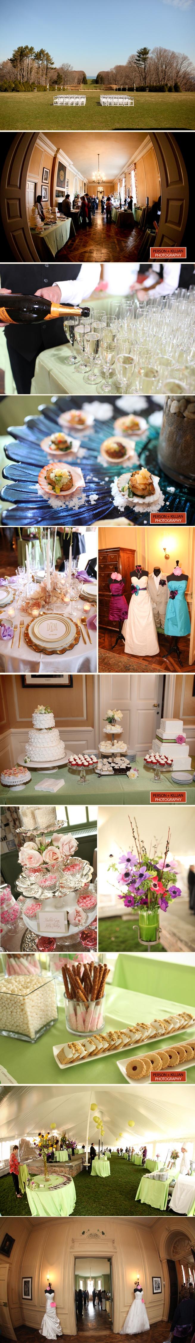 Crane Estate at Castle Hill Wedding Photography | Seaside Wedding Show 2011 - Person + Killian Photography