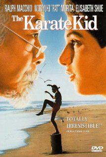 The Karate Kid (1984) A handyman/martial arts master agrees to teach a bullied boy karate and shows him that there is more to the martial art than fighting. Great Movie !
