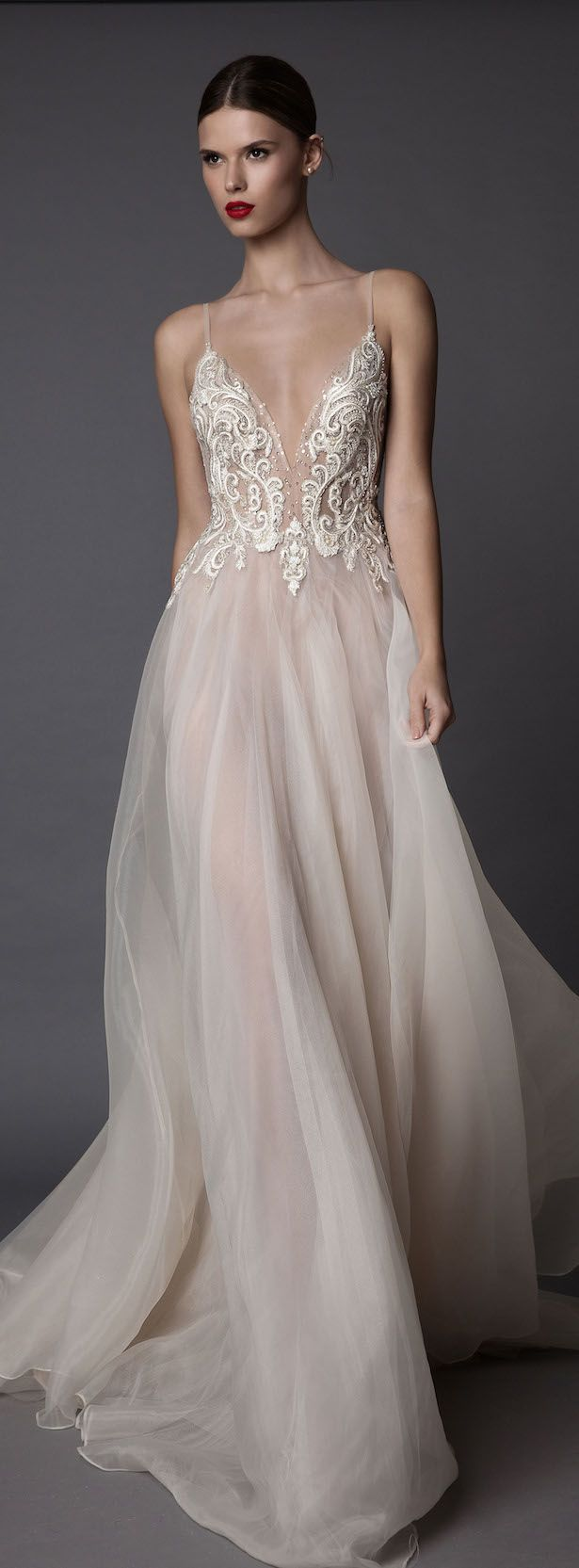 Wedding attendee dresses   best Gowns images on Pinterest  Paolo sebastian Wedding dress