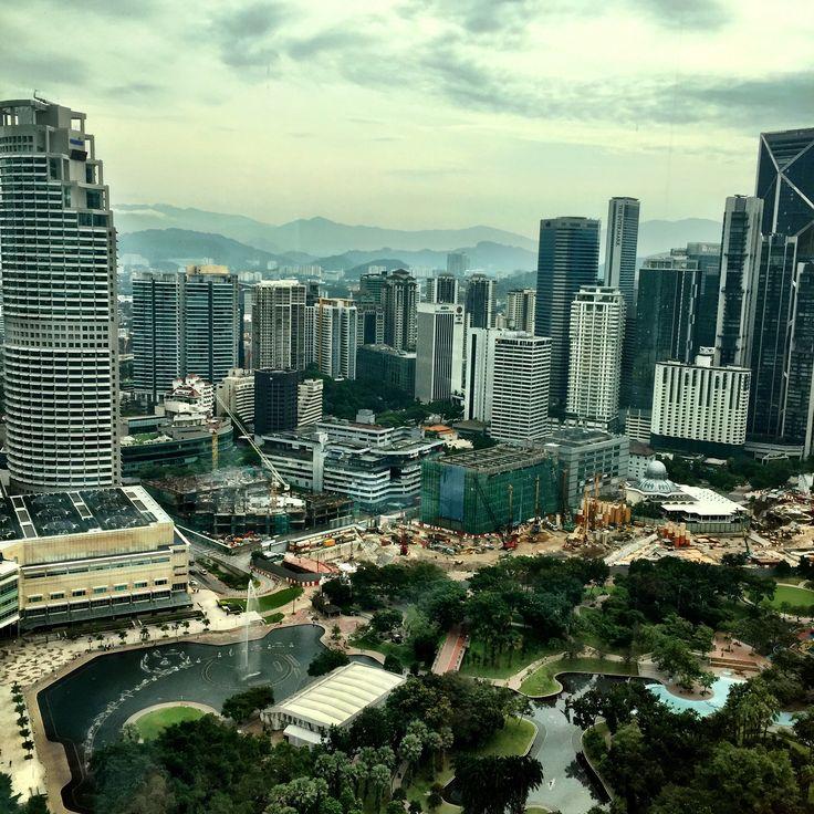 37th floor at Grand Hyatt, Kuala Lumpur