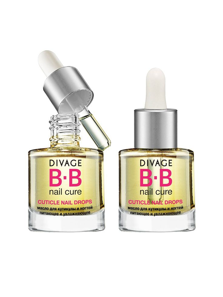 Divage Bb масло для кутикулы и ногтей питающее и увлажняющее cuticle nail drops