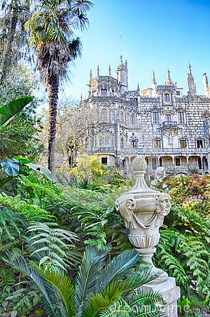 Quinta de regaleira. Portugal.Sintra