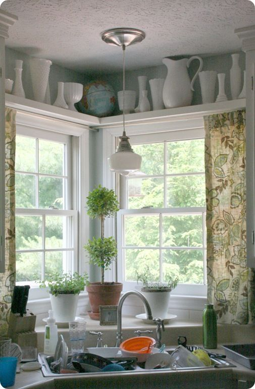 THESE are the curtains I need for my kitchen. Finally! (Jayda Bramble from Better Homes & Gardens fabric line)