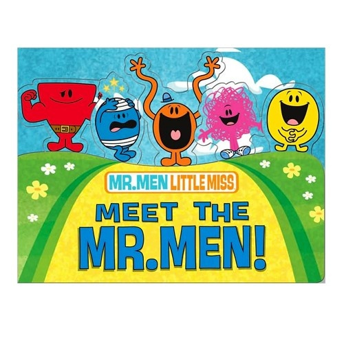 from Ty's Toy Box-Meet The MR. MEN book   $5.99
